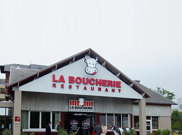 Restaurant La Table Pierrade® / La Boucherie GAP